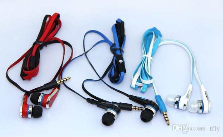Auriculares de audio de 50 centavos con audífono 50 céntimos Mini micrófono con micrófono y botón de silencio Auricular STREET By Earbud con paquete minorista