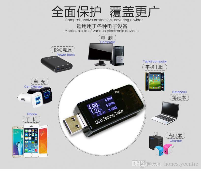 Новое поступление цифровое зарядное устройство USB QC 2.0 вольтметр амперметр тестер напряжения измеритель тока 3v-30v + 1A 2A сопротивление