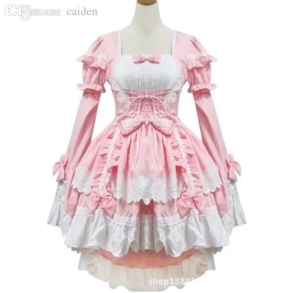 Compre Venta Al Por Mayor Negro Rosa Femenino De Halloween ...