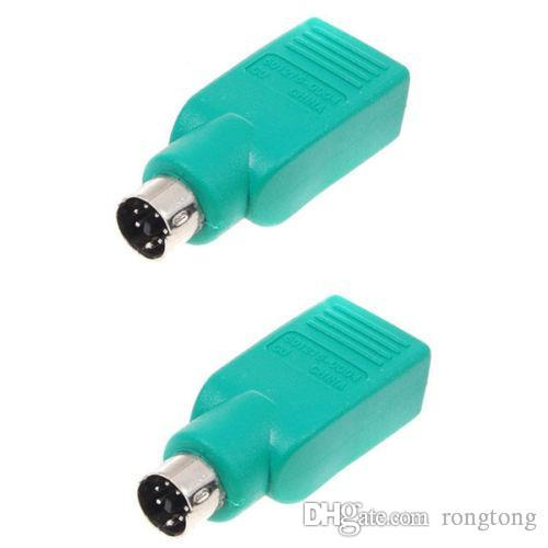 ps2 ps 2 male to usb female mouse passive adapter usb female to ps 2