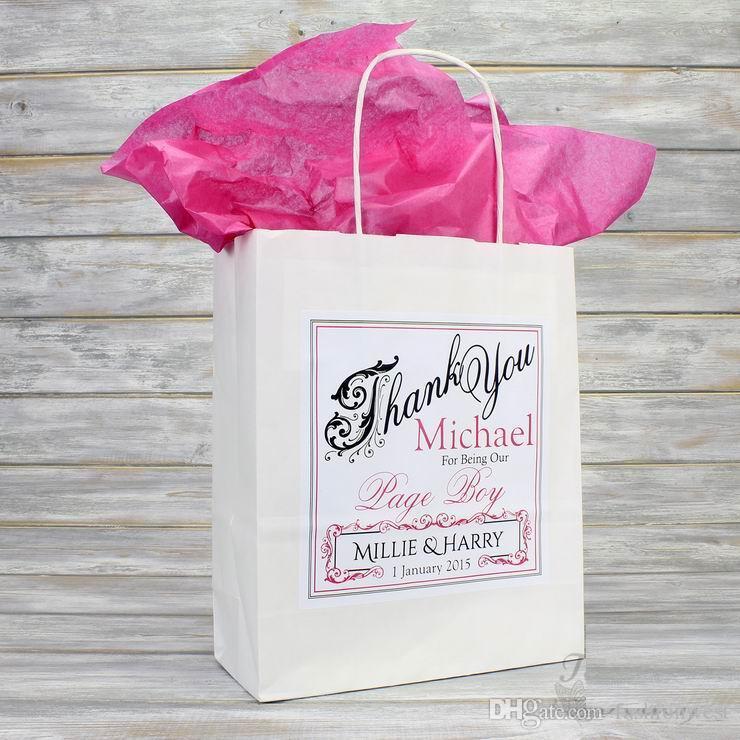 Düğün süslemeleri parti Kişiselleştirilmiş Düğün Favor Parti Hediye Çantası Renkli Doku Kağıt Parti dekorasyon misafirler için düğün hediyeleri