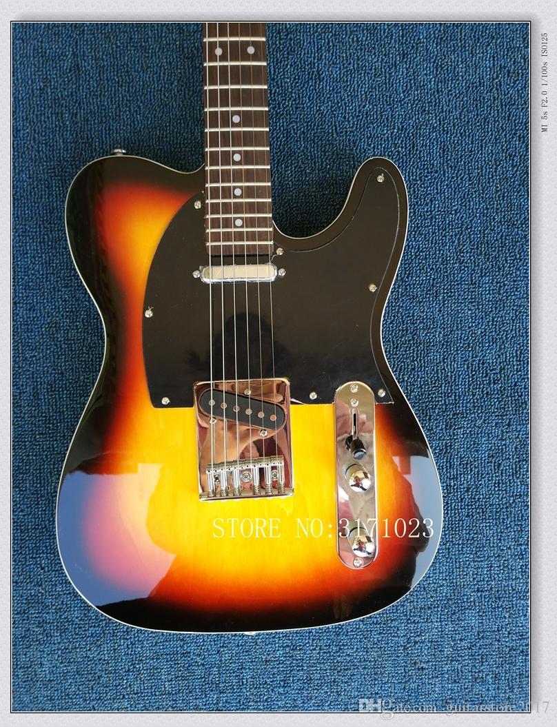 Custom Shop Touche en palissandre pour guitare électrique Sunburst de haute qualité en provenance de Chine