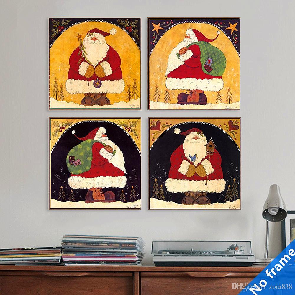 Großhandel Moderne Dekorative Gemälde Kinderzimmer Fresken ...