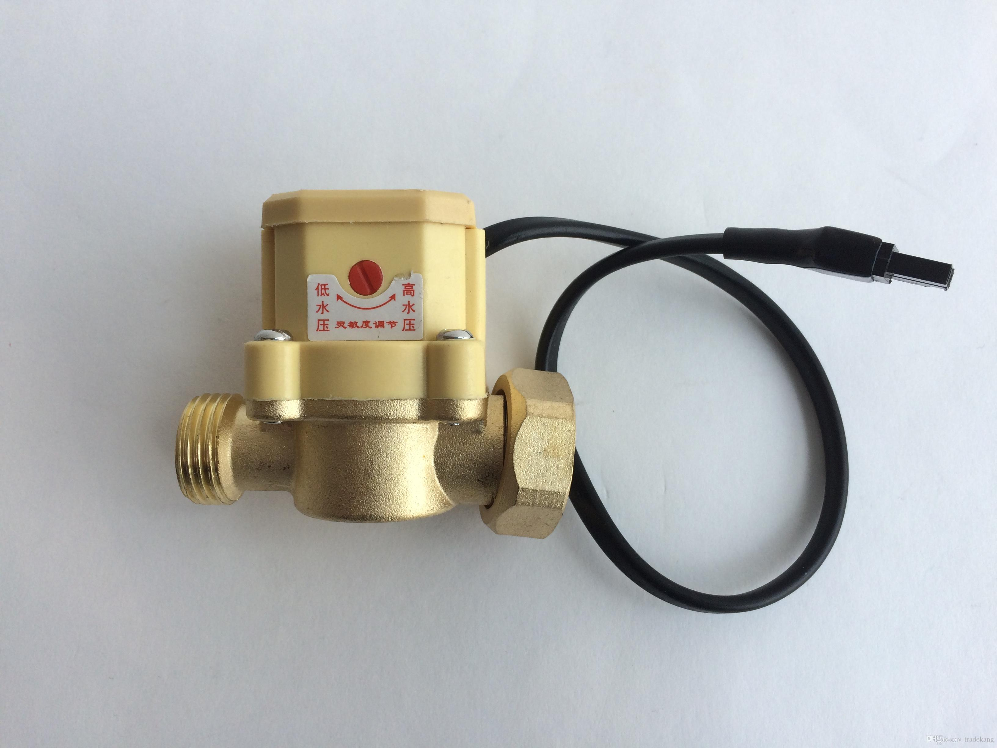 150W 220V 15L/Min electrical gas solar hot water heater Stainless Steel Water Pressure Booster Pump with automatic flow switch