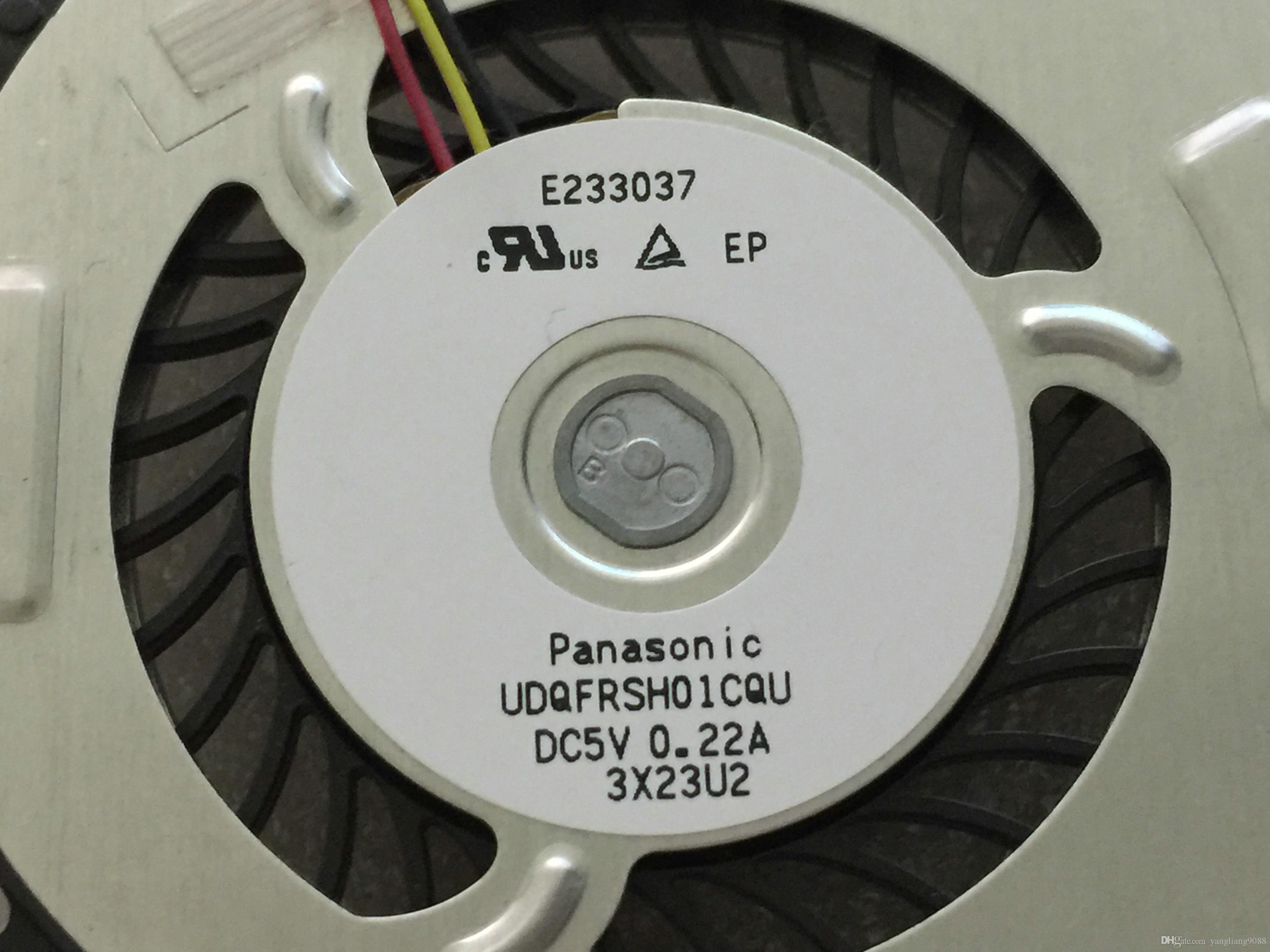 For Panasonic NEW UDQFRSH01CQU AB0600HX0403Z1 DC 5V 0.22A 3-wire 3-pin connector laptop CPU cooling fan