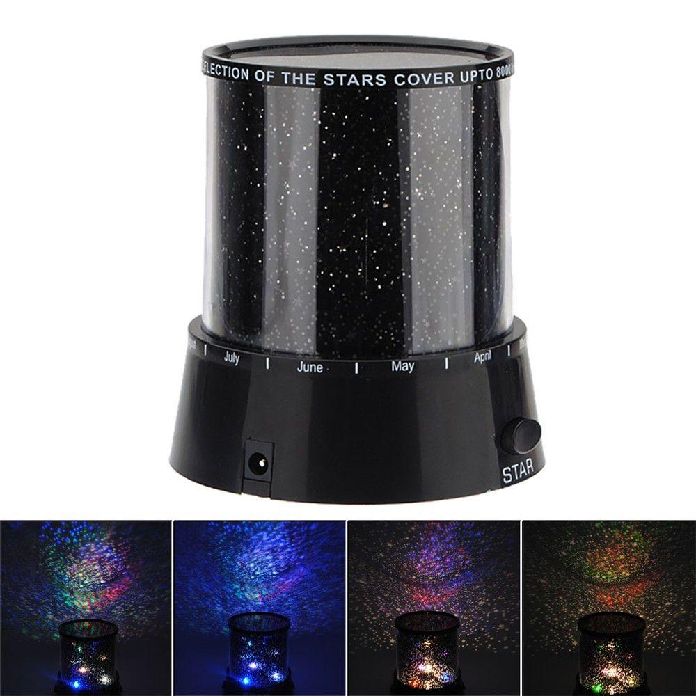 Amazing Sky Star Master LED Cosmos Laser Projector Lamp decoration LED Night Light CE ROHS