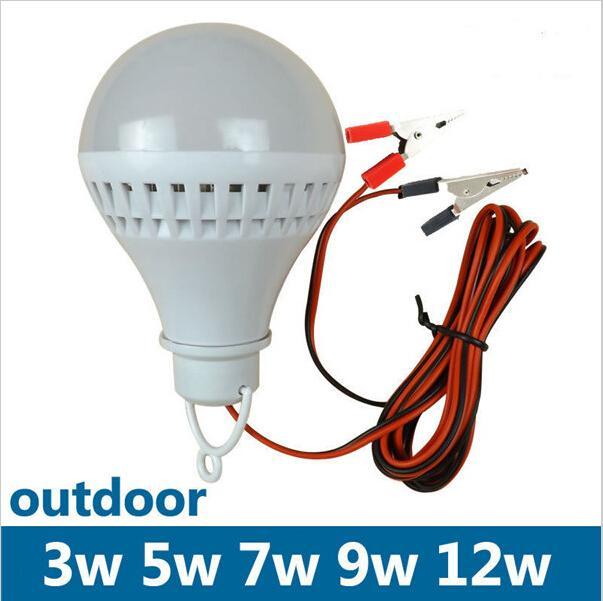 12 Volt Led Bulbs E27 Led Bulbs Lamp Camping Light Cool White Home