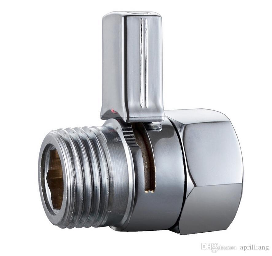 Bathroom Accessories Brass Shut Off Valve Chrome Finish Stop Water ...