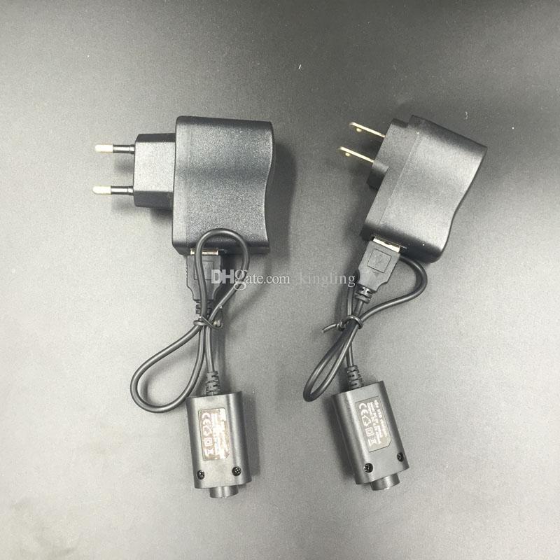 Cargador de batería de cigarrillo electrónico Cargador de cable USB 510 Hilo EGO para EGO T EGO-C Twist VV BATERÍA USB Cargador de batería para Ego