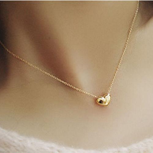Wholesale 2016 small accessories heart necklace short design chain wholesale 2016 small accessories heart necklace short design chain gold necklaces pendants gold heart collar for women jewelry name pendant necklace aloadofball