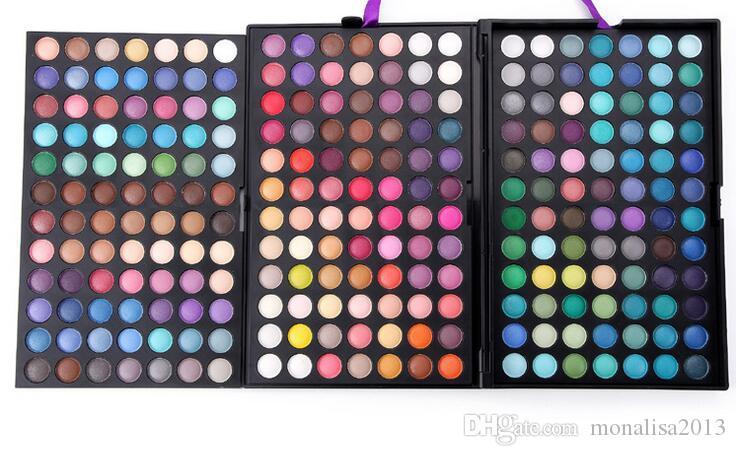 Палитра про 252 цвет тени для век Тени для век макияж Макияж палитра комплект косметика 3 слоя 2016