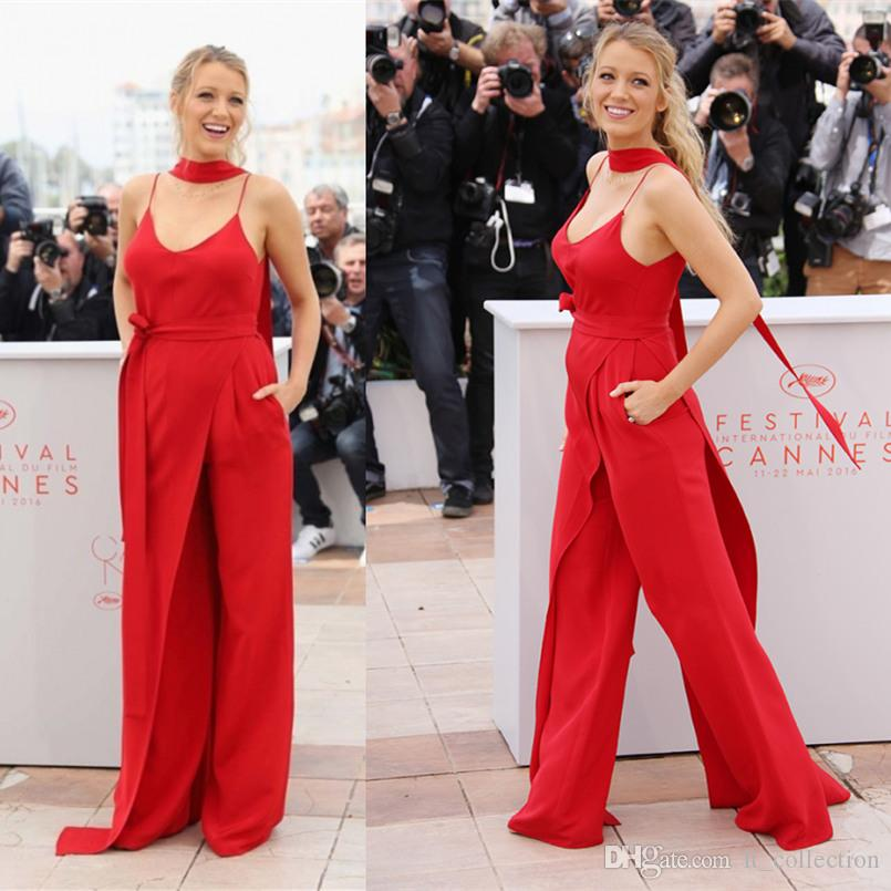 Blake Lively Red Carpet Dresses Red Evening Gowns Cannes Film ...