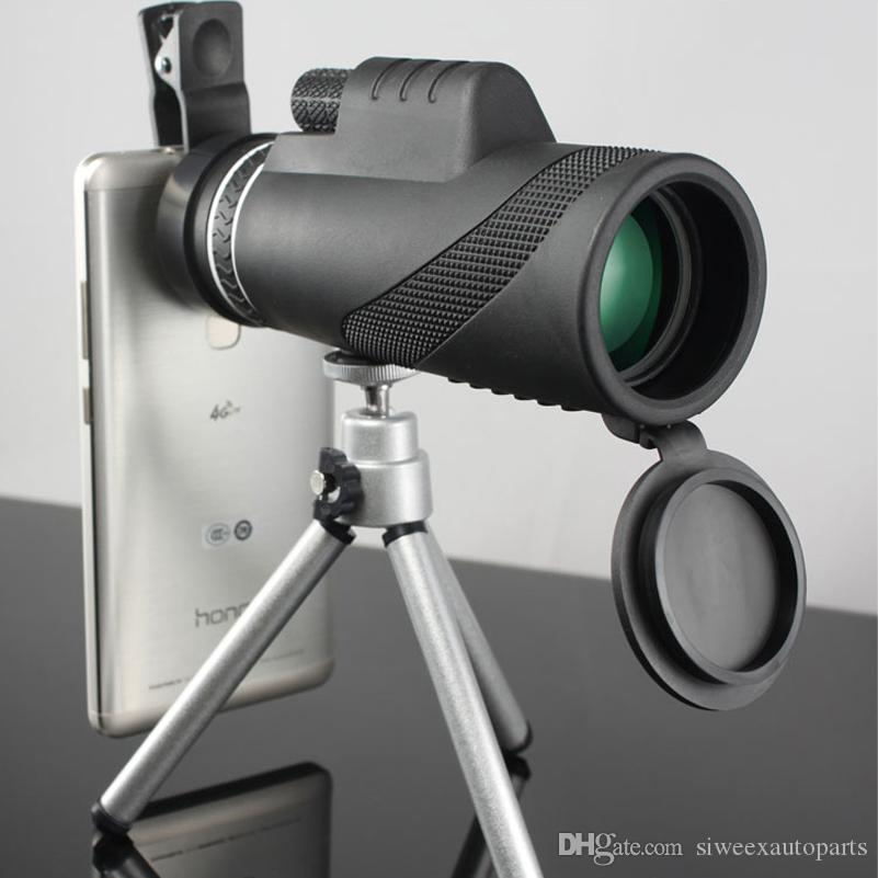 High Quality 40x60 Powerful Binoculars Zoom Binocular Field Glasses Great Handheld Telescopes Military HD