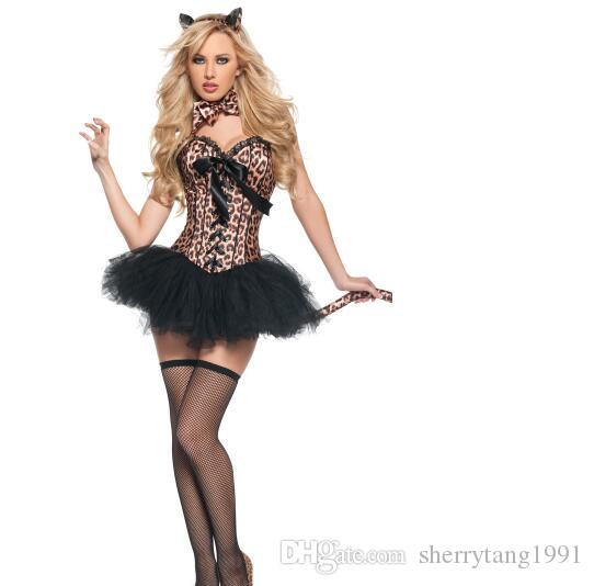 Halloween Costumes Women Cosplay Female Role Play Cat Lady Dress Fancy Dress Up Party Sexy Halloween Party Dress Group Outfits Clever Group Costumes From ...  sc 1 st  DHgate.com & Halloween Costumes Women Cosplay Female Role Play Cat Lady Dress ...