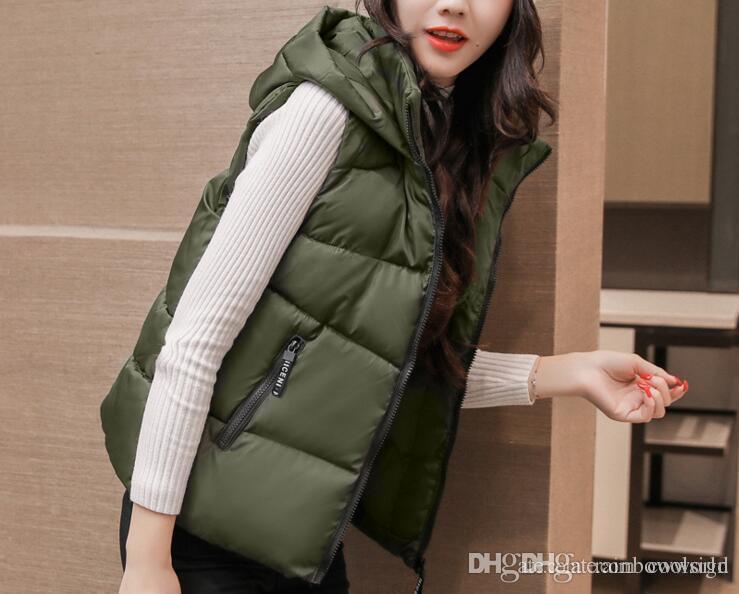 e51a9adc295 90% White Duck Down Vest Women Ultra Light Warm Vest Femme Sleeveless Jacket  Waistcoat Autumn Winter Coat Plus Size S-3XL EW64 Women s Vest Down Jacket  ...
