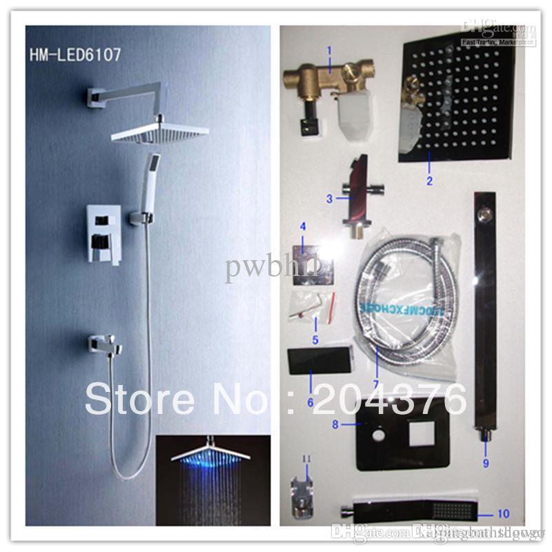 Online Cheap Luxury Shower Kit Temperature Control European Shower ...
