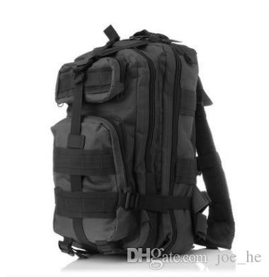 30L Outdoor Sport Military Canvas Tactical Backpack Molle Nylon Rucksacks Camping Trekking Bag backpacks Free DHL Fedex