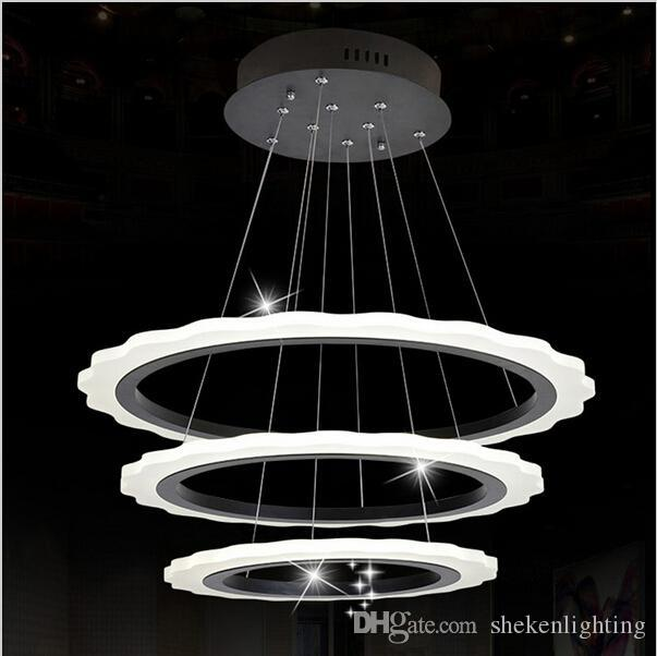 Acheter 2016 Moderne Led Luminaire Pendentif Restaurant Salle À Manger  Hôtel Cuisine Lumières Pendentif Lumières Acrylique Salon Luminaires De  $231.56 Du ...