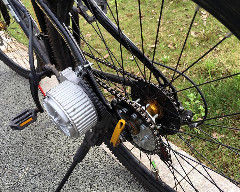 350W Nuovo kit motore elettrico bicicletta con cambio elettrico Kit deragliatore elettrico Kit elettrico bicicletta a velocità multipla variabile