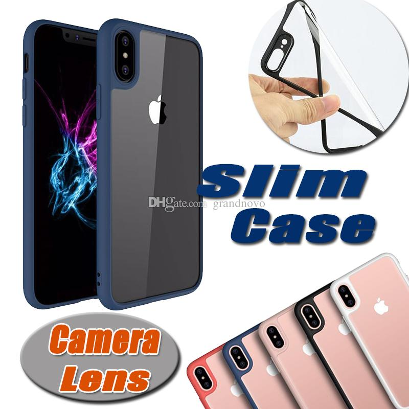 huge discount 0e742 62c74 Unicorn Beetle Hybrid Colorful Clear Cover Soft Case For iPhone XS Max XR X  7 6 6S Plus 5 5S Samsung Galaxy Note 8 S8 Camera Lens Protection