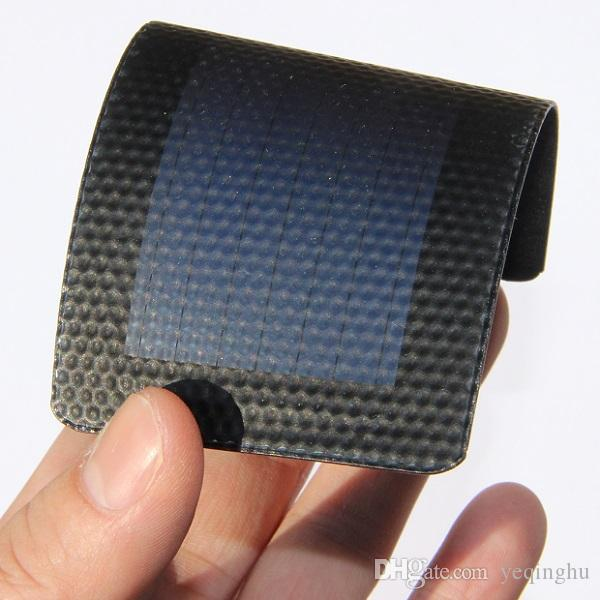 New 0.3W 1.5V Flexible Solar Cells Amorphous Silicon Foldable Very Slim Solar Panel Diy Phone Charger Education Kits