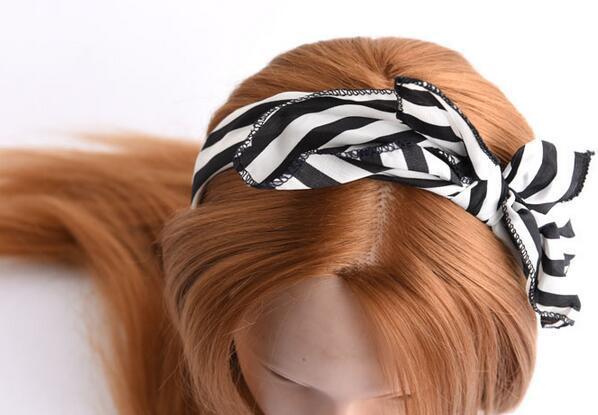 / MIX STYLE BOWKNOT Paño de la banda para la joyera para la joyería del cabello Regalo HJ031 *