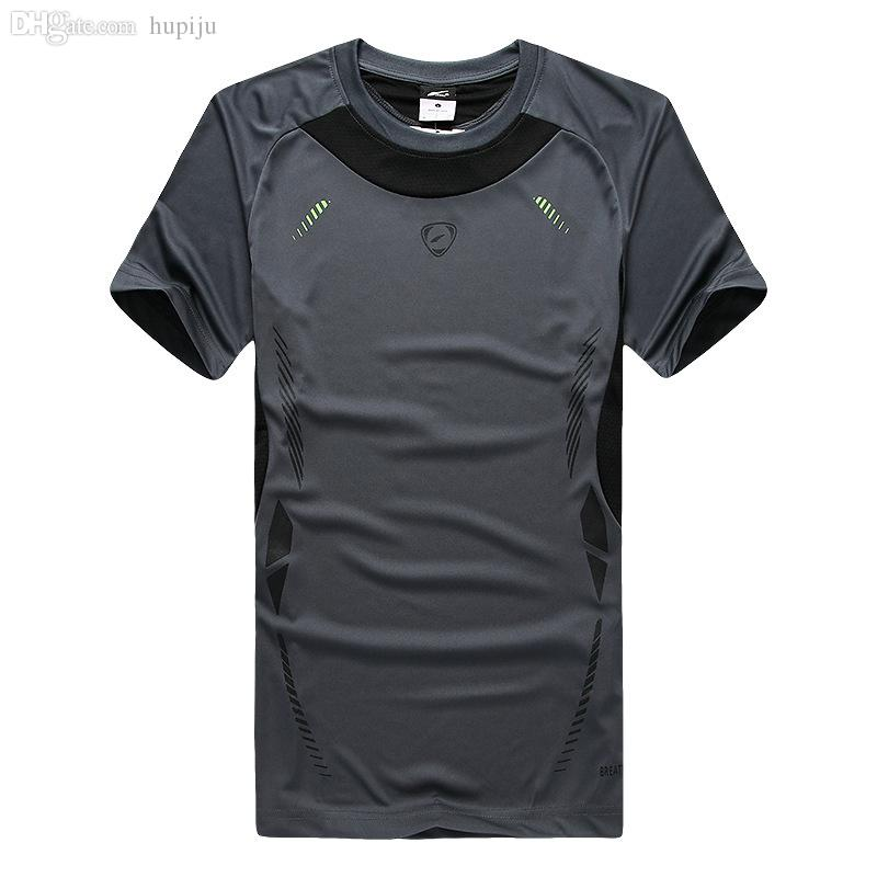 ca72e4ca431ae Wholesale-HOT New Outdoor Sports Quick-Drying Short-Sleeve Round ...