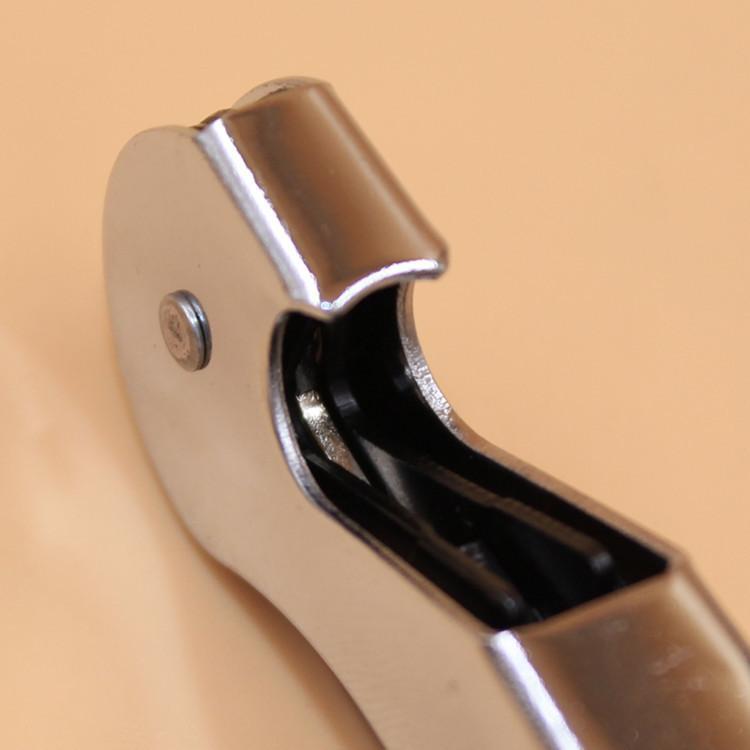 النادل النبيذ أداة زجاجة فتاحة البحر الحصان المفتاح سكين بولتاب مزدوجة متمحور المفتاح
