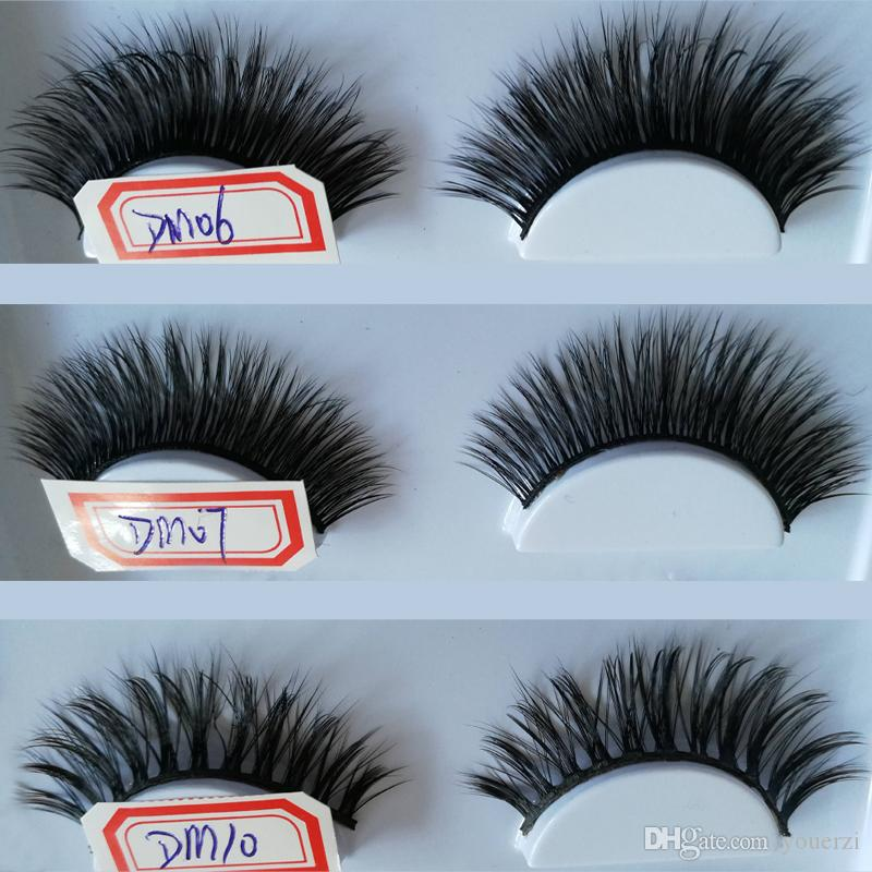Beauty Fake Lashes Eye Makeup 30 Styles Fashion False Eyelashes Set