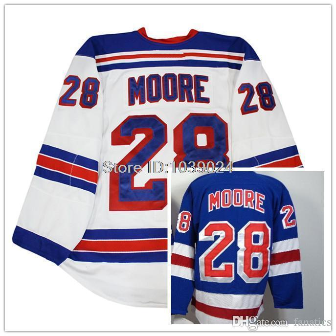 2016 Cheap 28 Dominic Moore Jerseys White Royal Blue Hot Sale Moore Hockey  Jerseys Cheap Price Best Quality UK 2019 From Fanatics db662dfaa