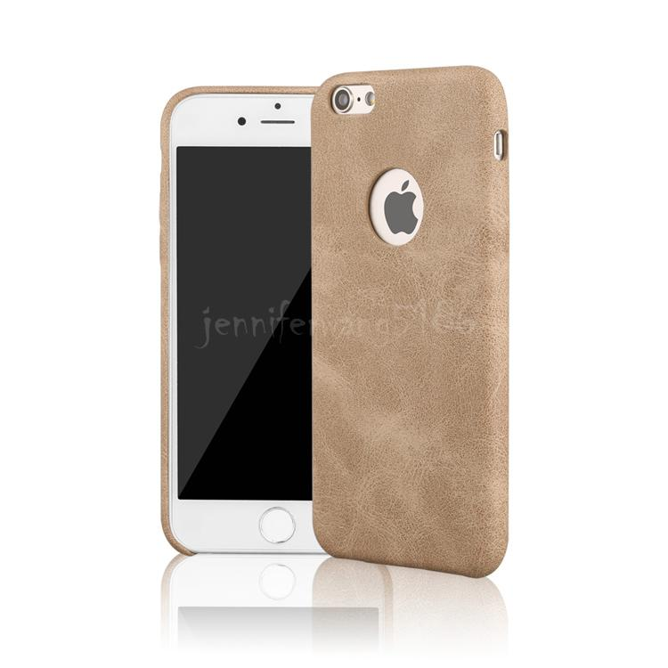 Pour iphone 7 / 7Plus 6 / 6S Plus Mobile téléphone portable cas couvre mince rétro luxe smartphone étui en cuir PU cas de téléphone