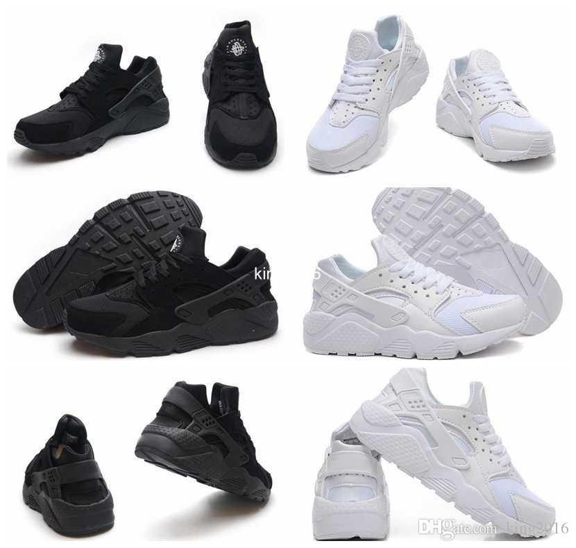 super popular 93e32 c436c Compre Venta Caliente Air Huarache Ultra Running Zapatos Para Mujeres  Hombres, Hombres Mujer Blanco Triple Negro Huaraches Sports Sneakers  Entrenadores ...