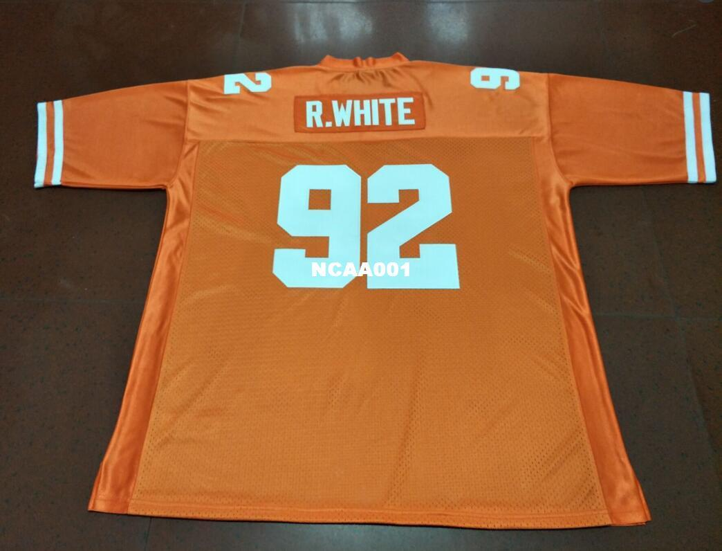 cheap for discount 5fbe6 9b5e0 Men Tennessee Volunteers #92 Reggie White College Jersey Size S-4XL or  custom any name or number jersey