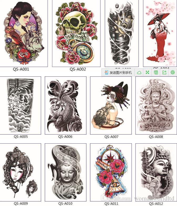 2016 Handgelenk lebensechte Blumen arm Tattoo Design Wasserdicht menwomen Temporäre Tattoo Aufkleber Für Körperkunst Fleisch Tatoos qualität gute!