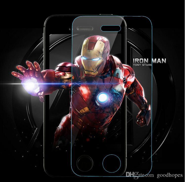 Для iPhone X 8 7 plus 6 6 S plus 5s se 2.5 D 0.3 mm протектор экрана закаленное стекло закаленное мембрана protector защитная пленка для экрана