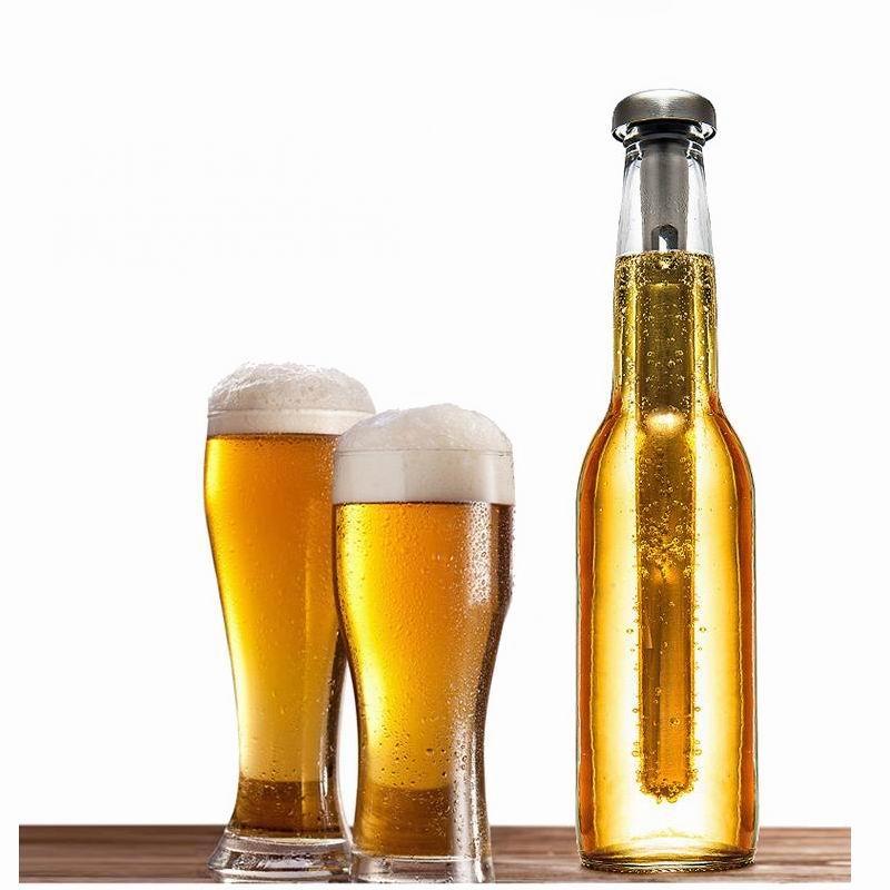 Vin bière refroidisseur bâtons en acier inoxydable bière refroidisseur bâton de refroidissement boisson glace bâton