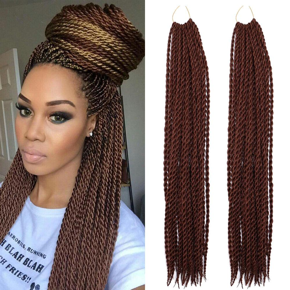 2019 Hand Made Afro Styles Senegalese Twist 2x Crochet Braids Pre