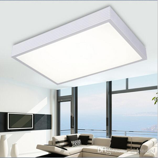 40 Bright Living Room Lighting Ideas: 2017 Super Bright Dimmable Modern Led Ceiling Lights For