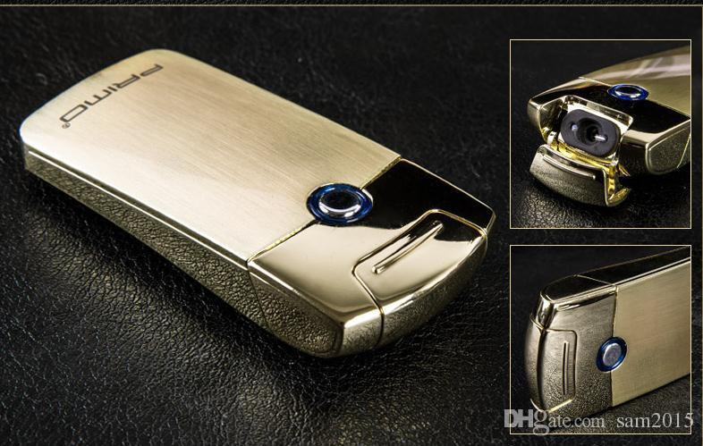 Primo Usb charge Arc plasma Lighter USB windproof personality electronic cigarette lighters Novelty Electric Smoke cigarette lighter c063