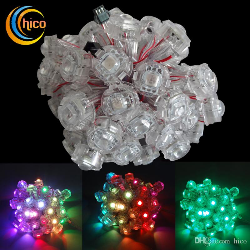 Superior Led String Light Led Christmas Lights 20mm Pixel Light Source Decorative  String Party Transparent Smd5050 Dc5v Led Fairy String Lights Commercial  Led String ... Gallery