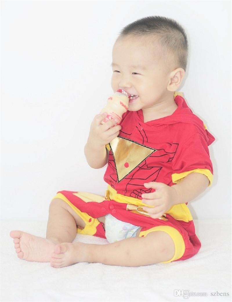 Iron Man Costume Halloween Costume Infant Baby Romper/Jumpsuit 0 ...