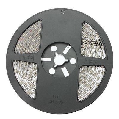 A luz de tira flexível do diodo emissor de luz IP33 IP65 de DC12V / 24V SMD5050 60LEDS 14.4W / M Waterproof a luz de tira 5M / rolo conduzida impermeável