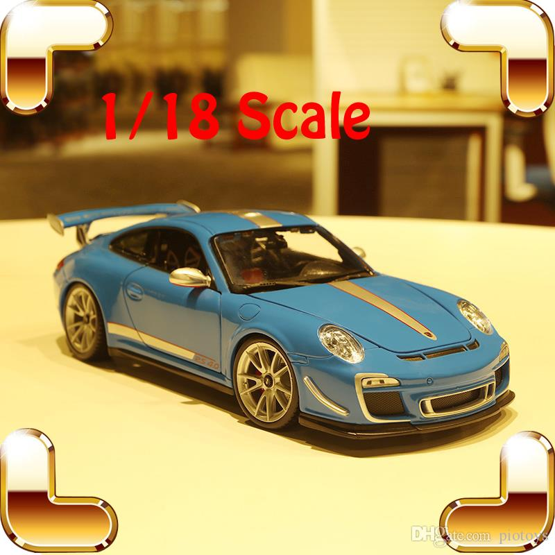 New Year Gift GT3 RS4.0 1/18 Metal Model Car Collectible Vehicle ...