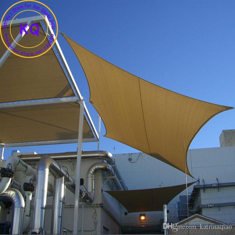 3.6x3.6 M Squre Sun Shade Sail Coolaroo Garden Patio HDPE UV Sunscreen Sail  With Ropes Factory Direct Wholesale Sun Shade Sail Sun Sail Shade Sail  Online ...