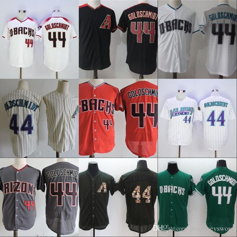 4c2959cb0d1 ... Cool Base Majestic Womens MLB 2017 44 Paul Goldschmidt Jersey Cheap  Mens Arizona Diamondbacks Cooperstown Fashion Baseball Jerseys Vintage Red  Black ...