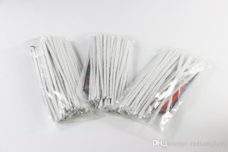 Temiz Boru temizleme pamuk ücretsiz gönderim kolay cam boru aksesuar tüp temizleyicileri 50 adet her torbayı kullanımı kolay Toptan
