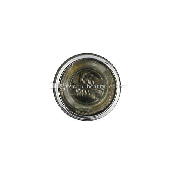 Wax Dry Herb Skillet Atomizador Tanque de Quartzo Wick Doughless wickless Cerâmica Dupla Bobinas 510 Cera Atomizador EGO Skillet Vaporizador e cigarro