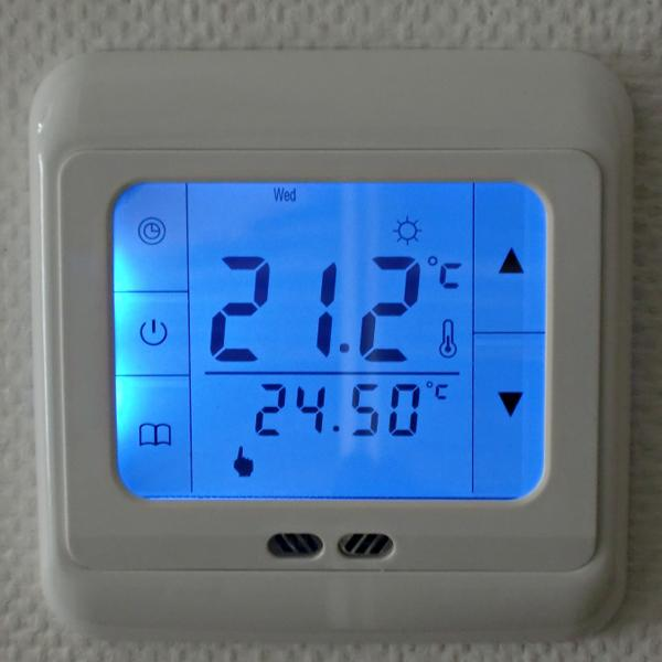 Digital Floor Heating Thermostat Programmable Home