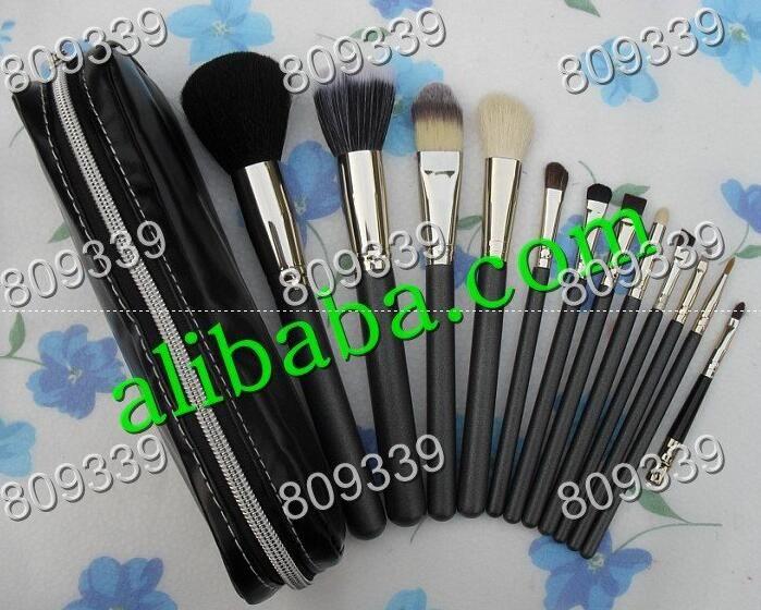 2016 NOUVEAU bonne qualité le plus bas Meilleure vente bonne vente Maquillage Pinceau Ensemble Pochette Professionnelle Pinceau