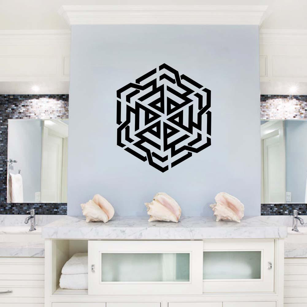 Islamic Muslin Wallpaper Home Decor Wall Stickers Living Room Bedroom Wall Art Mural Poster Decorative Wall Applique